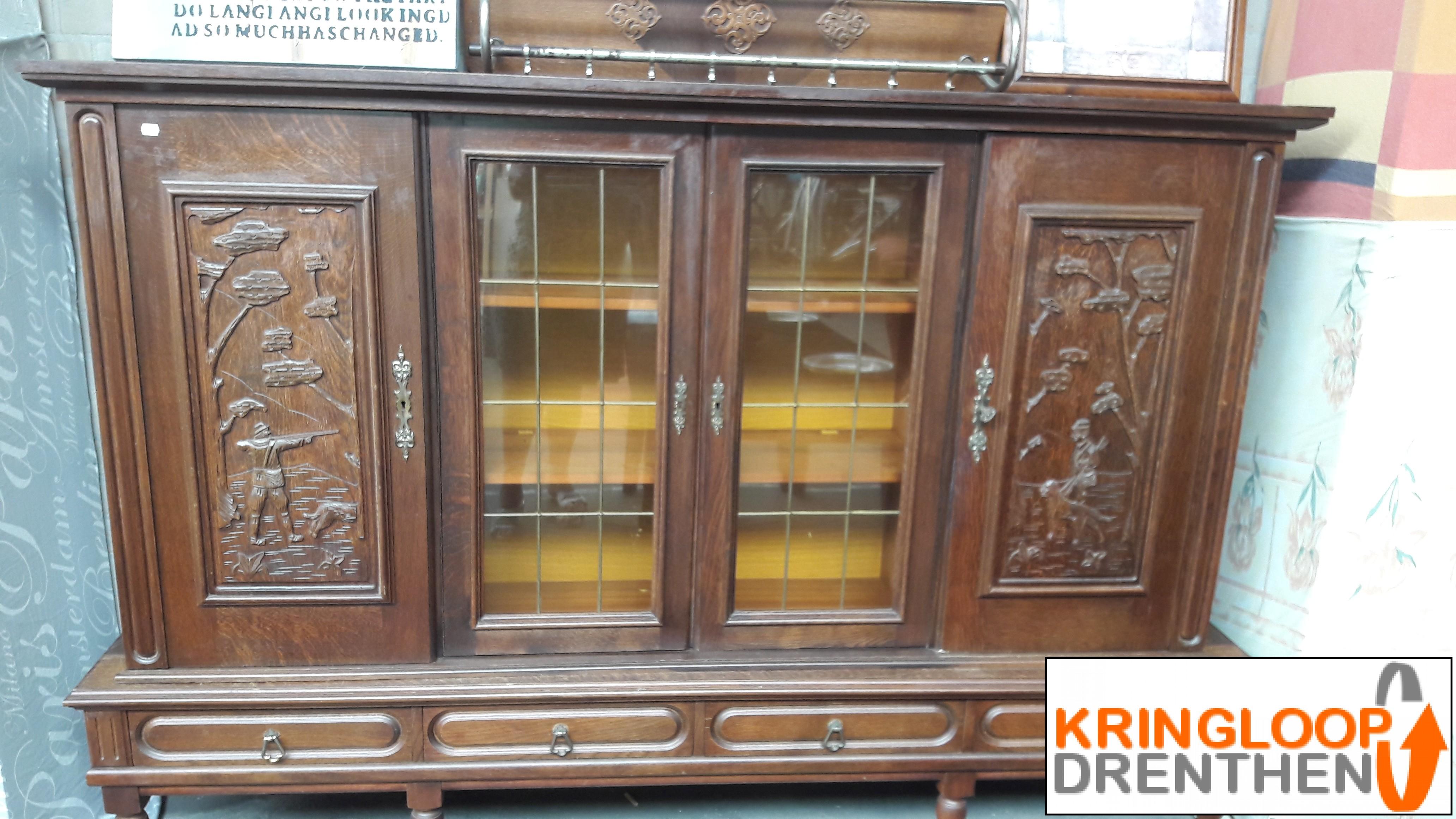 Te Koop Antieke Donkere Kast Kringloop Drenthen